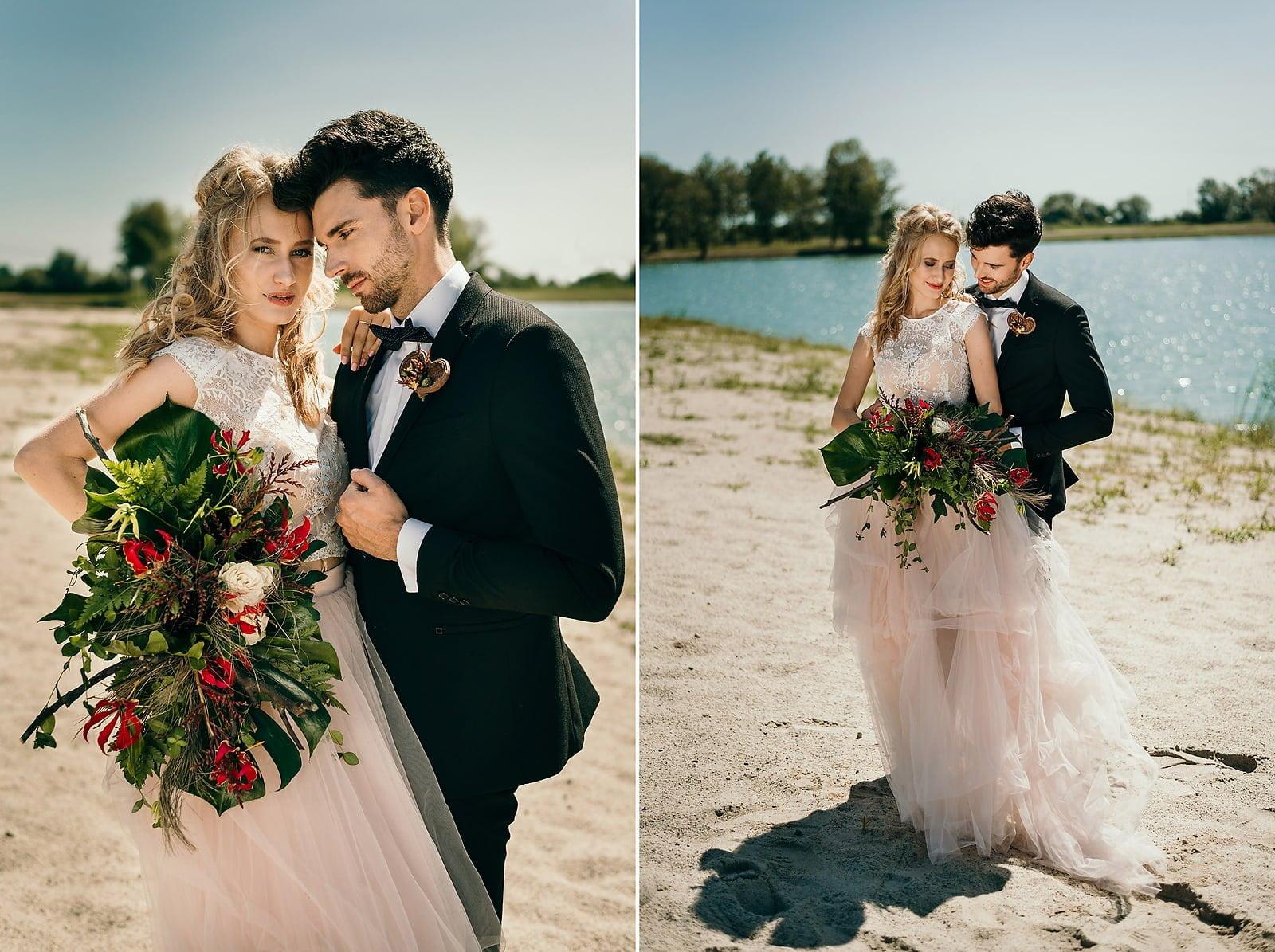 Stylizowana sesja ślubna w klimacie południowej Hiszpanii 2