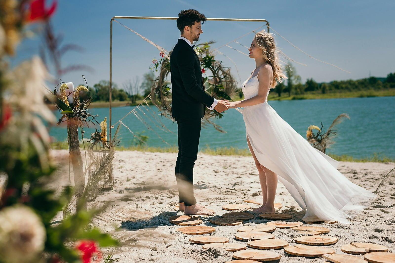 Stylizowana sesja ślubna w klimacie południowej Hiszpanii 15