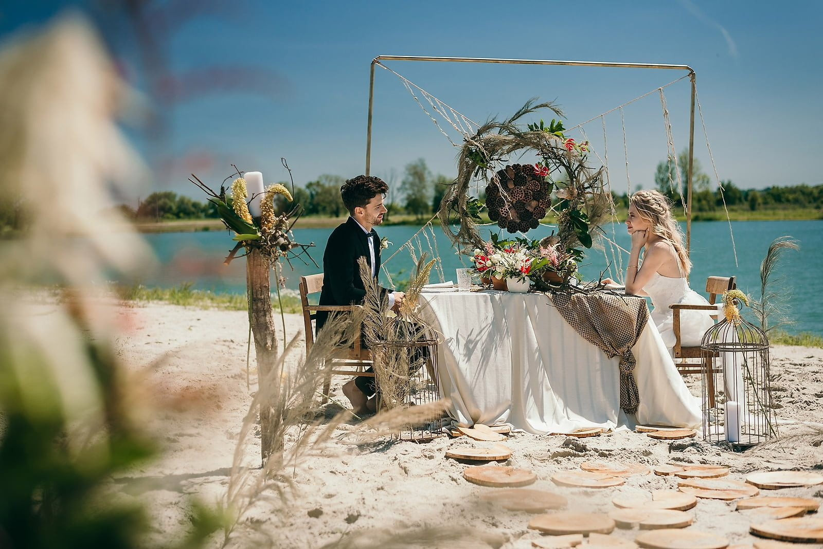 Stylizowana sesja ślubna w klimacie południowej Hiszpanii 19