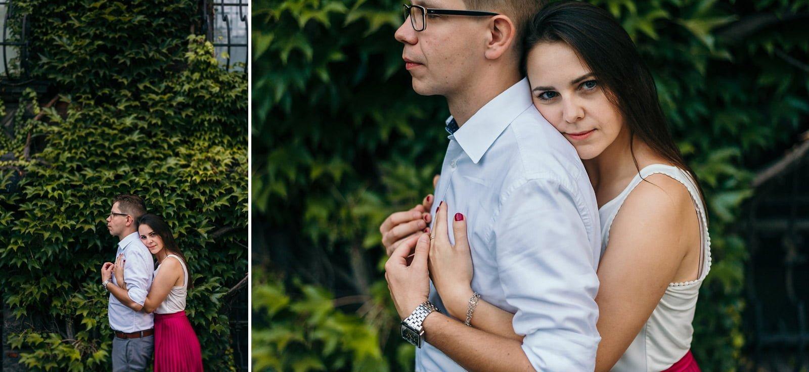 Joanna i Bartosz - sesja narzeczeńska Wrocław 19