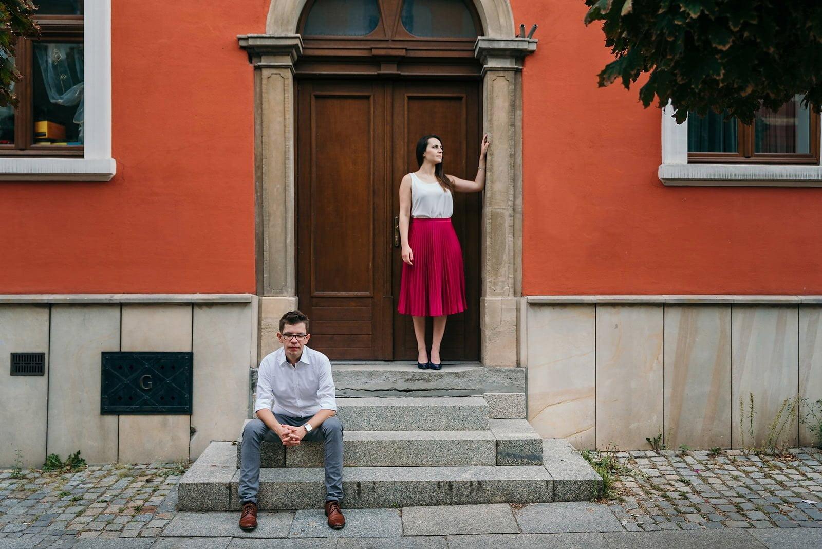 Joanna i Bartosz - sesja narzeczeńska Wrocław 29