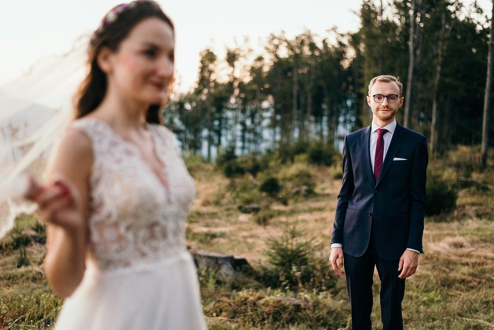 Justyna i Tomek sesja plenerowa - Ustroń Równica 2