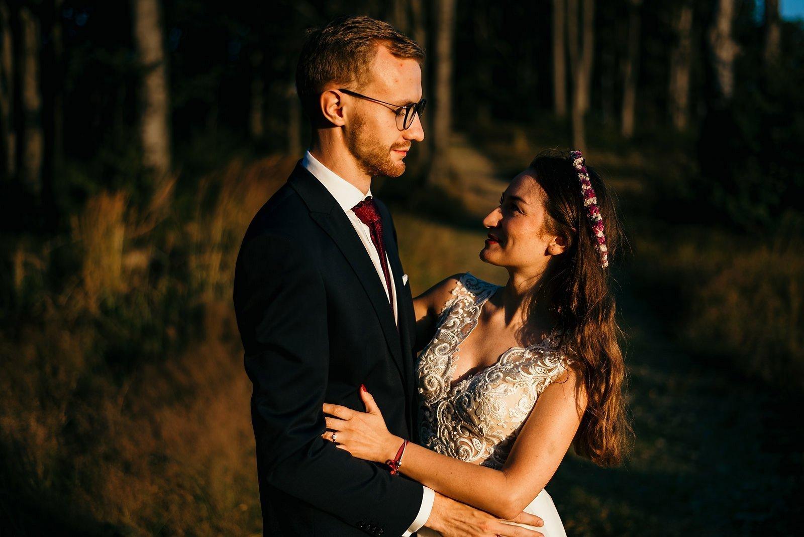 Justyna i Tomek sesja plenerowa - Ustroń Równica 33