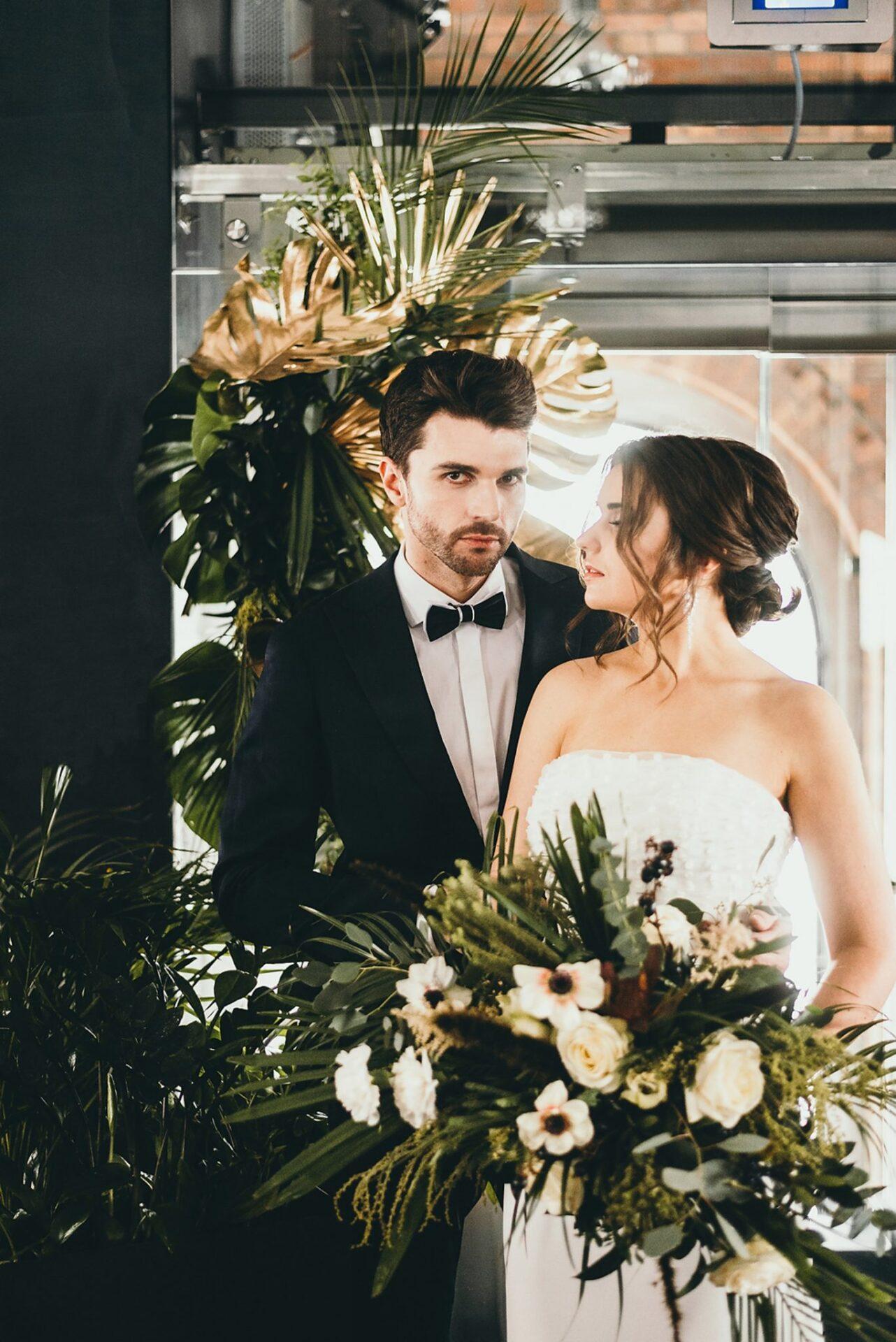Sesja ślubna w stylu Modern Glam 23