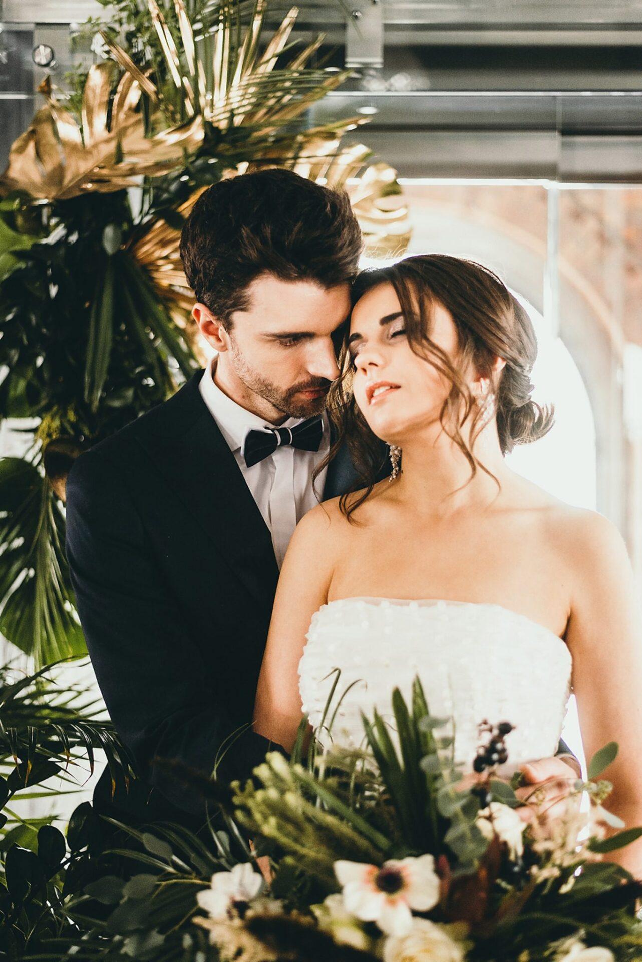 Sesja ślubna w stylu Modern Glam 26