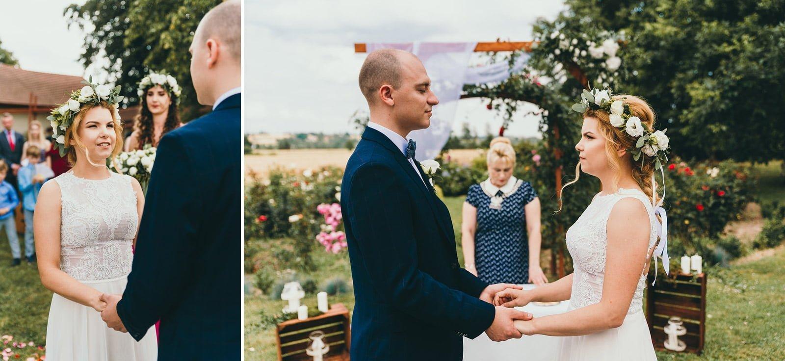 Justyna i Szymon - plenerowy ślub w stylu boho 42