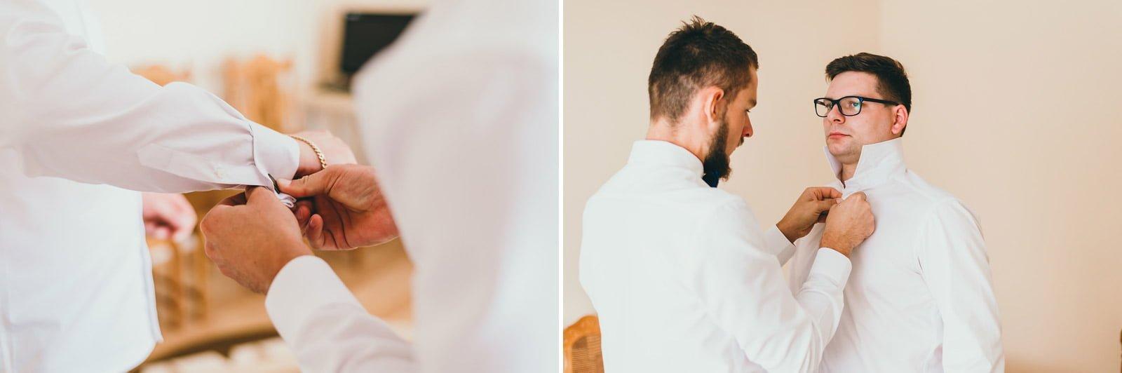 Karolina i Mateusz - plenerowy ślub - Biały Borek 10