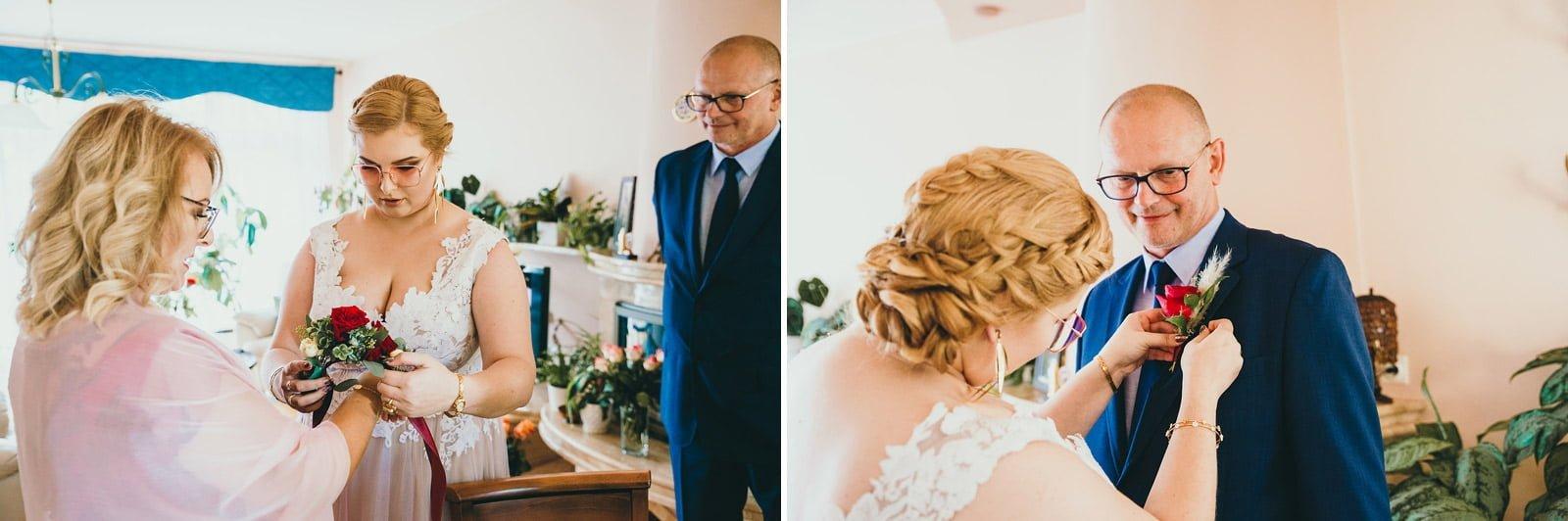 Karolina i Mateusz - plenerowy ślub - Biały Borek 18