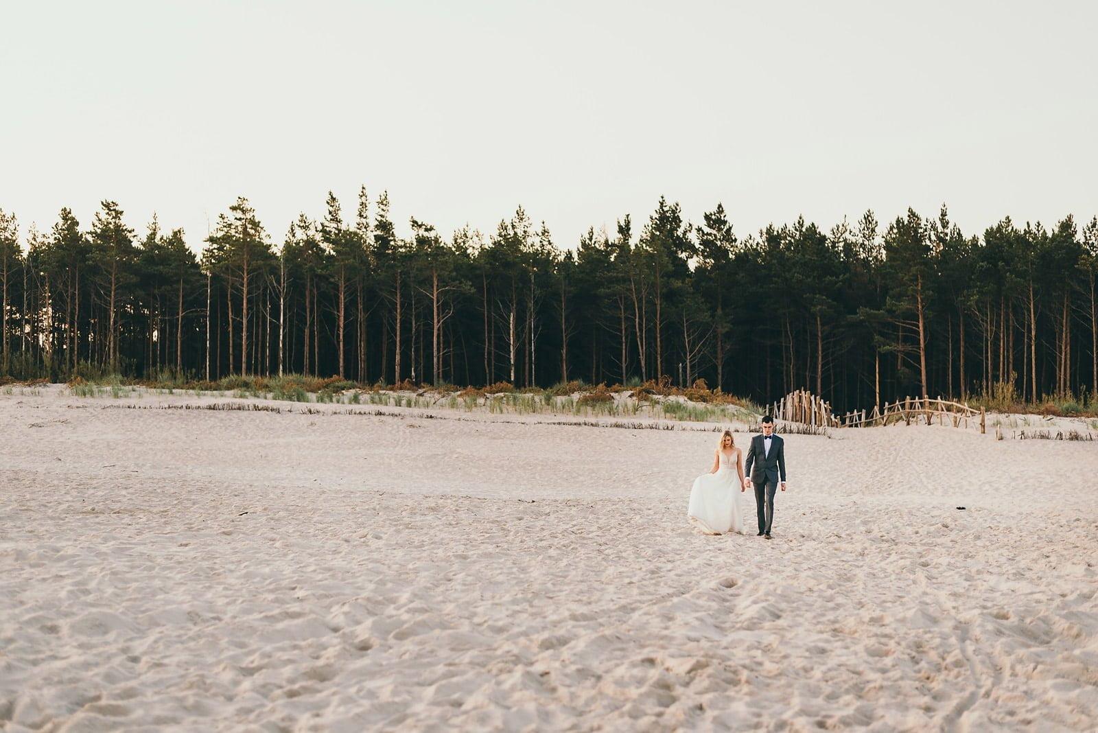 Sesja ślubna nad Polskim morzem 4