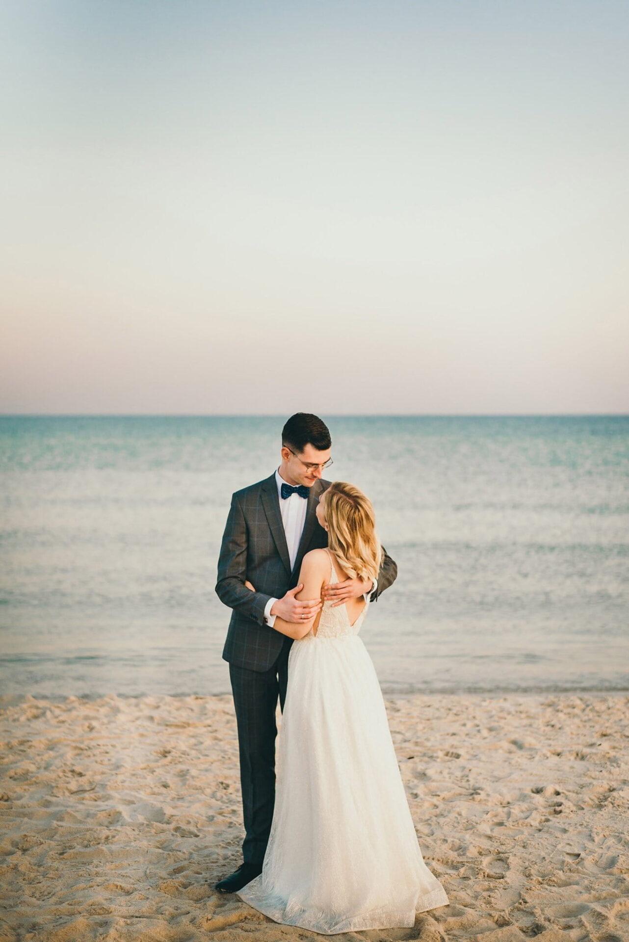 Sesja ślubna nad Polskim morzem 5