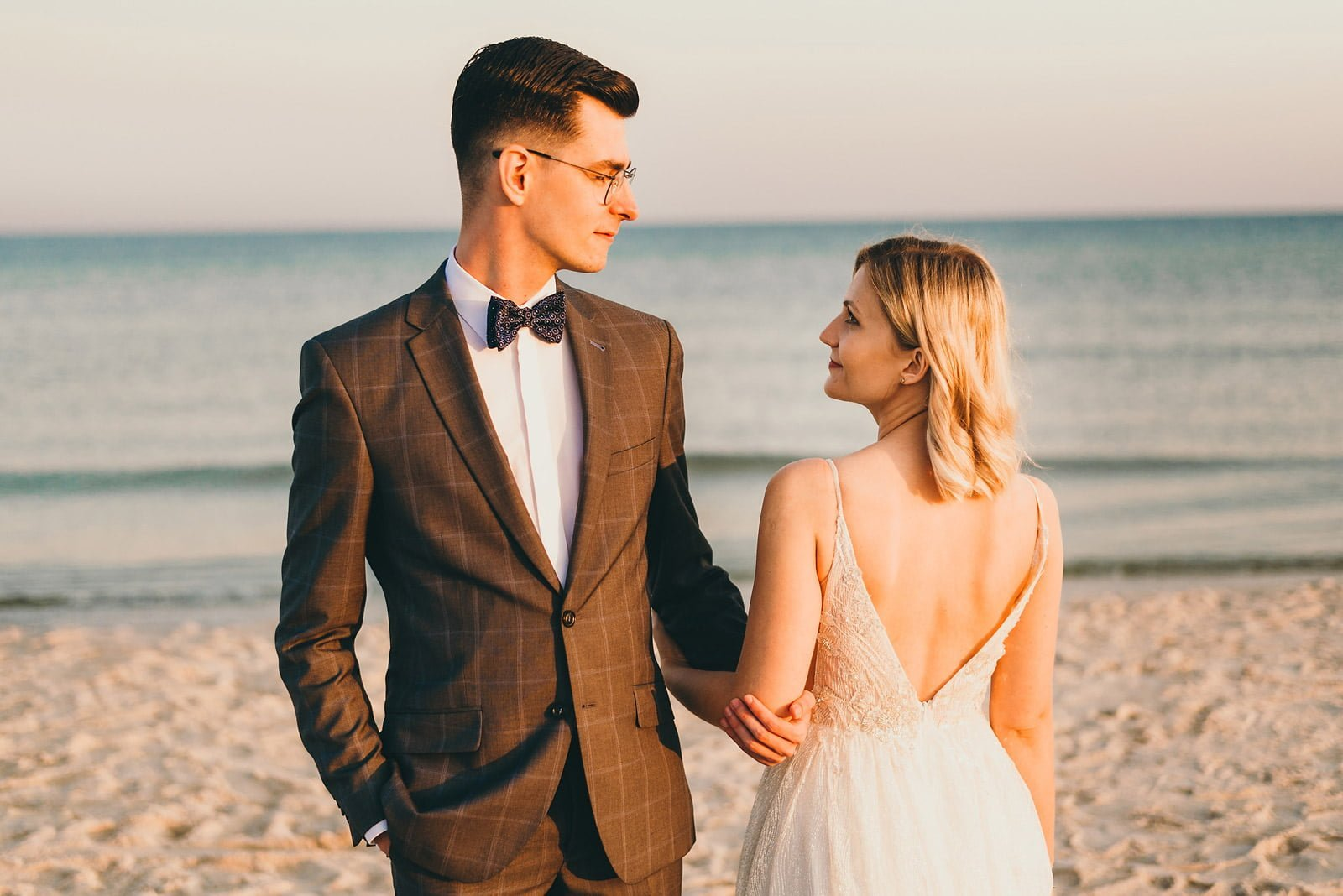 Sesja ślubna nad Polskim morzem 12